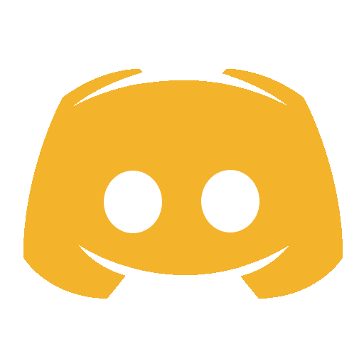 discord orange icon #32880