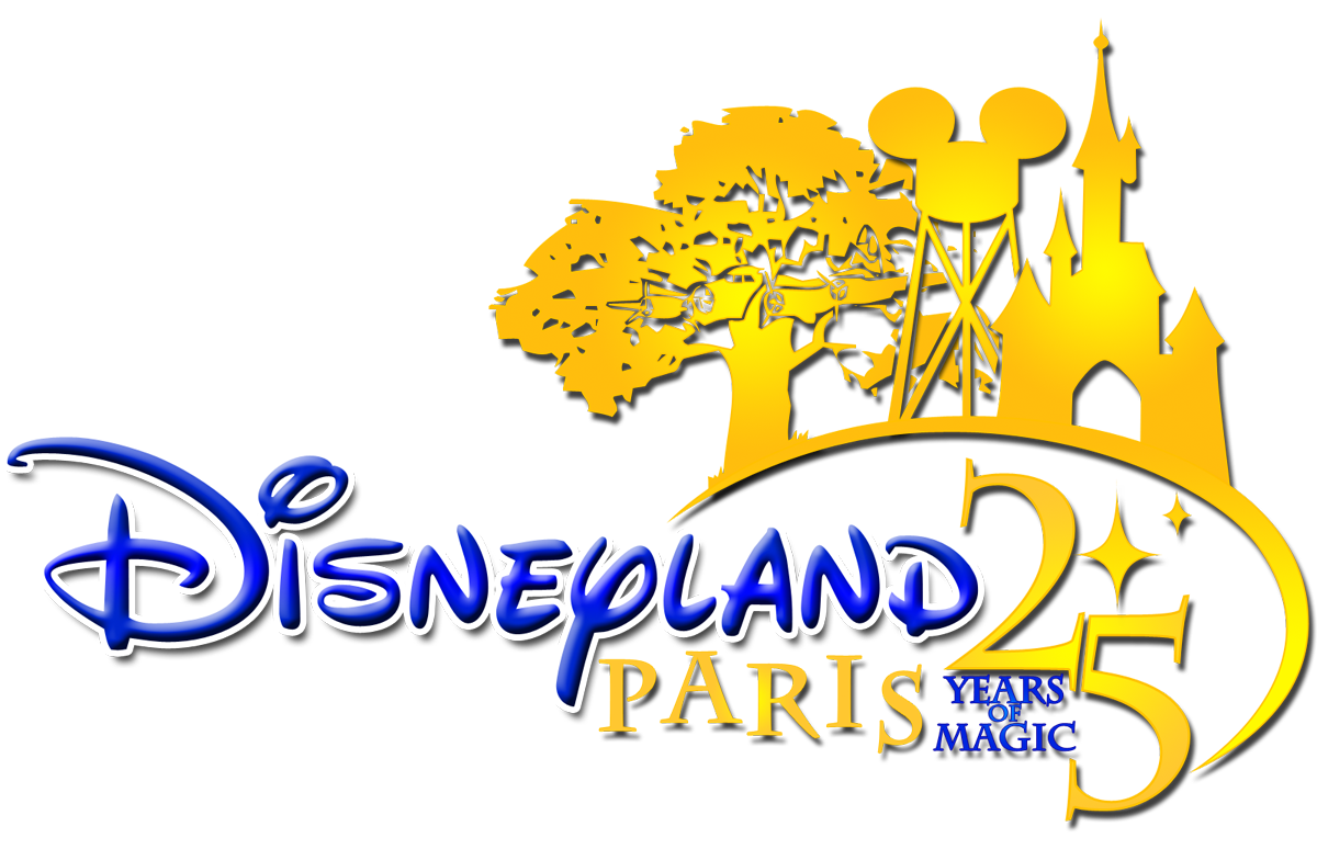 disneyland paris 25 years magic png logo #4723