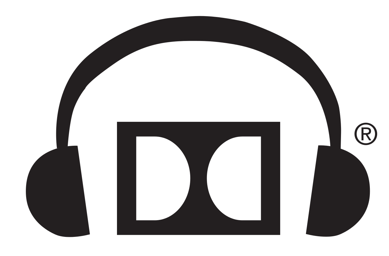 dolby headphone music png logo #5537