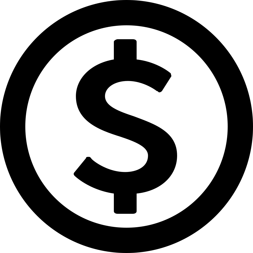 dollar sign svg png icon download #17041