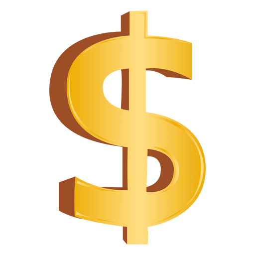 dollar sign transparent png svg vector #17006