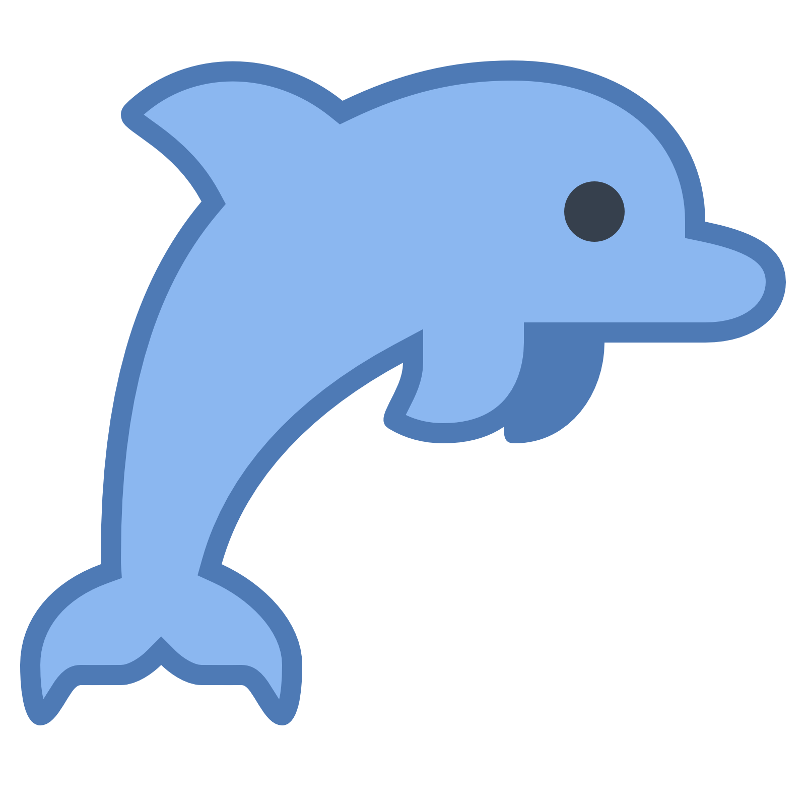 dolphin icon download icons #22011