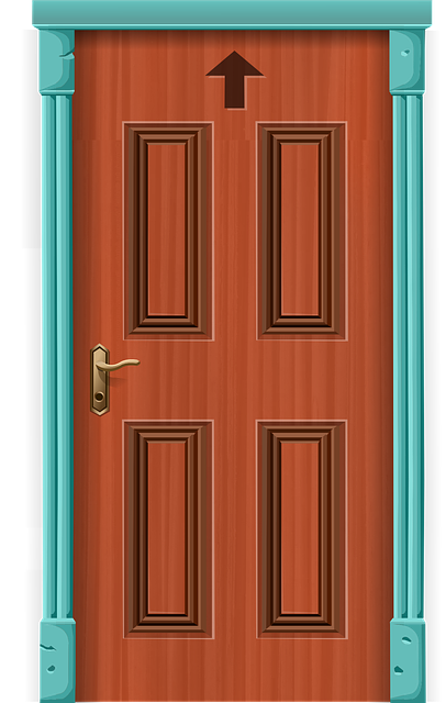 vector graphic door entrance front door entry #15818