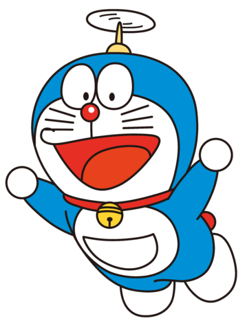 download doraemon transparent png image #40685