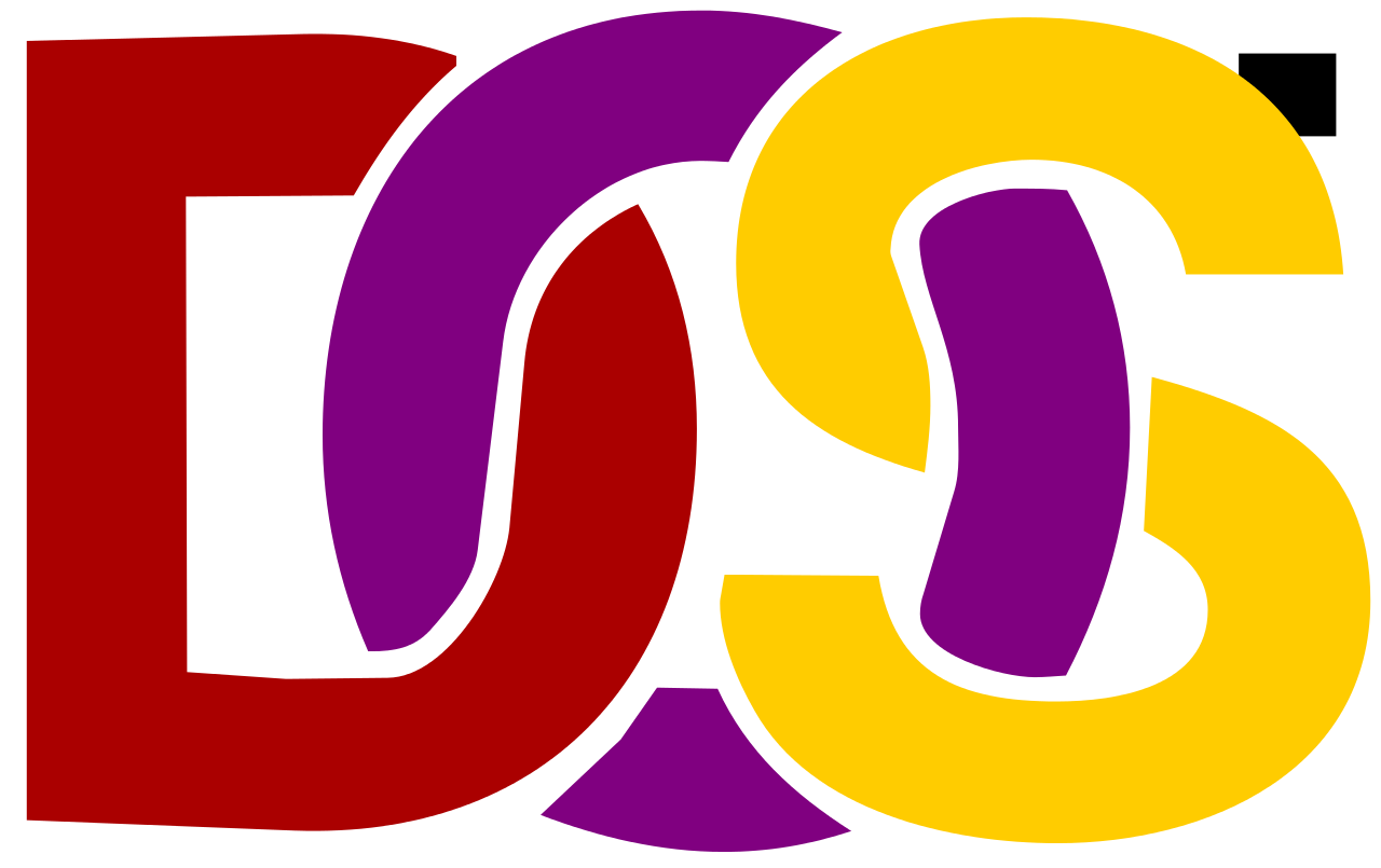 contrived ms dos logo png #6594