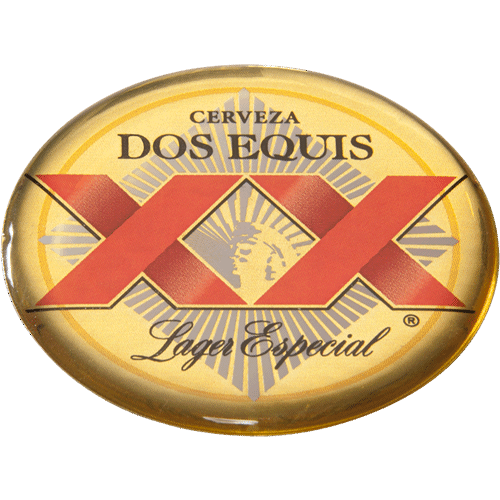 domed label photo, dos equis png logo #6571