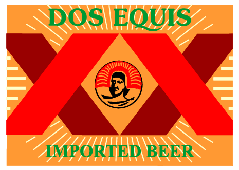 dos equis imported beer png logo #6576