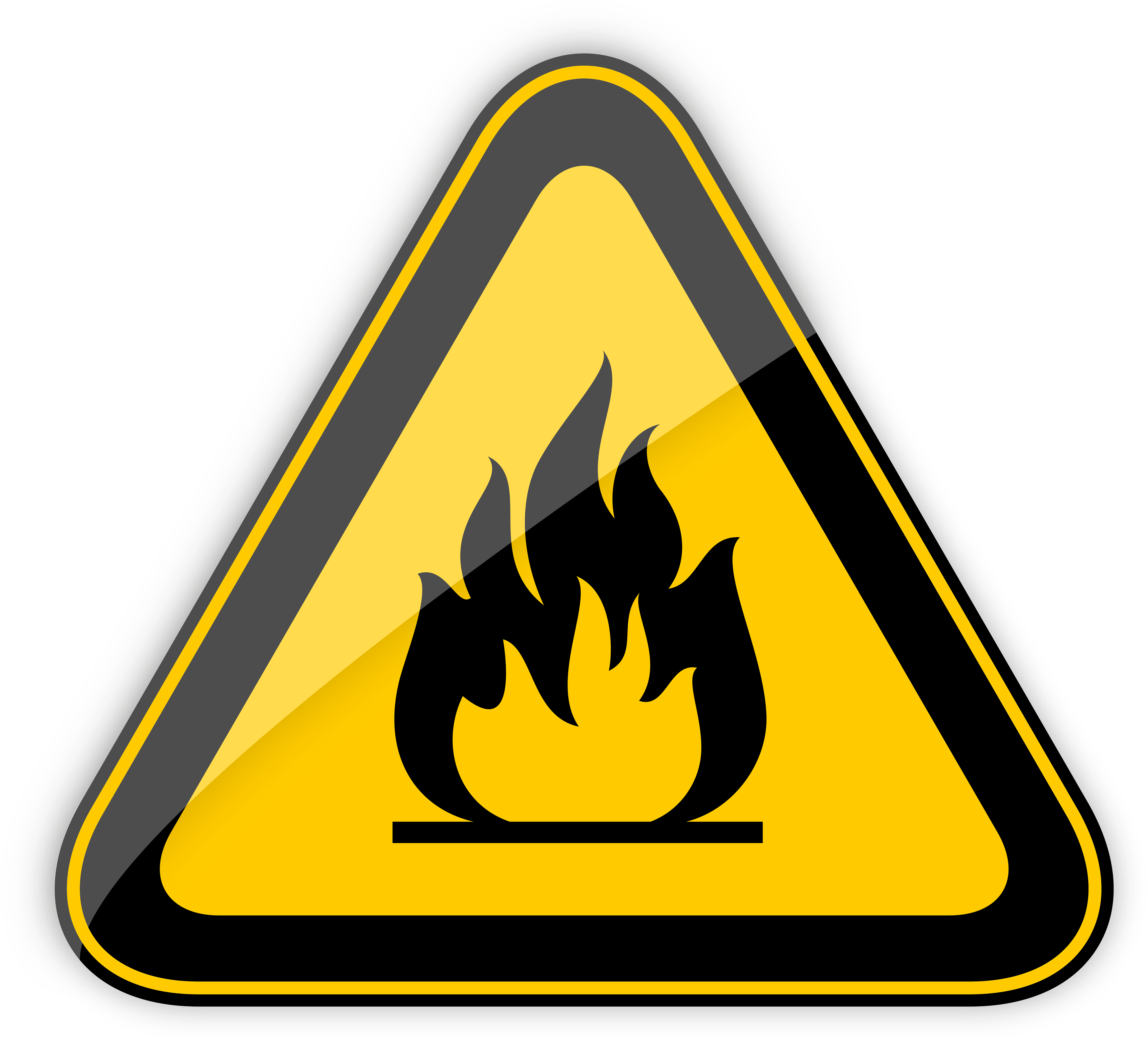 download clipart, highly flammable warning sign png clipart best web clipart #31789