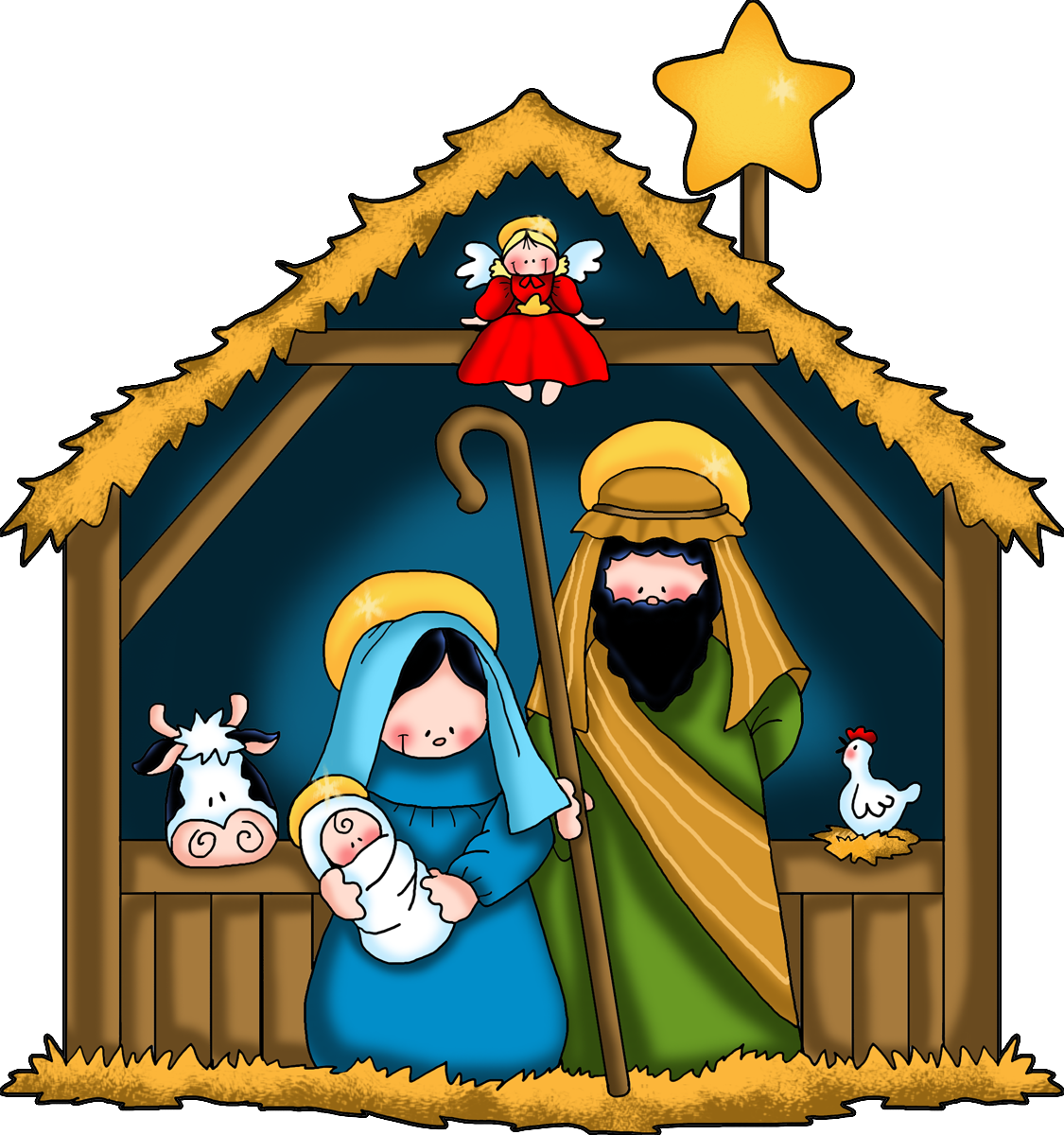 download clipart, jesus christmas cliparts download clip art #31779