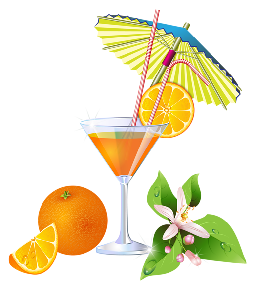 drinks, summer orange cocktail png clipart gallery yopriceville #15714