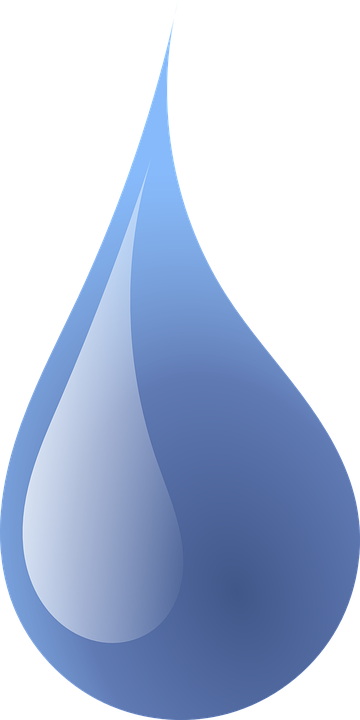 drop water rain vector graphic pixabay #37734