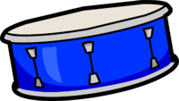 image blue snare drum club penguin wiki the editable encyclopedia about club penguin #30090
