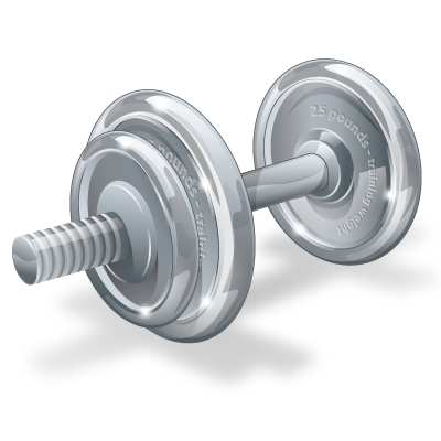 dumbbell dumbbells png transparent images #35149