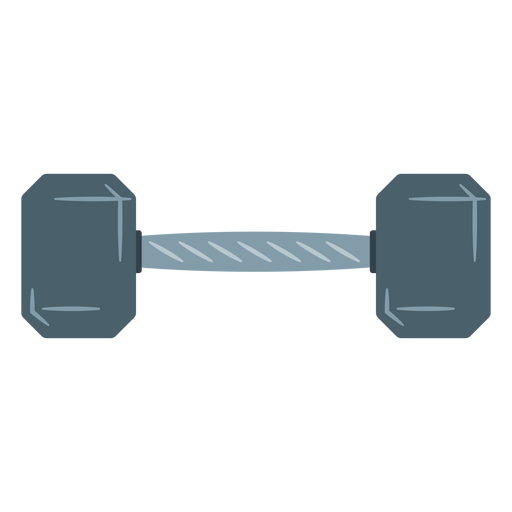 hex dumbbell icon transparent png svg vector #35175