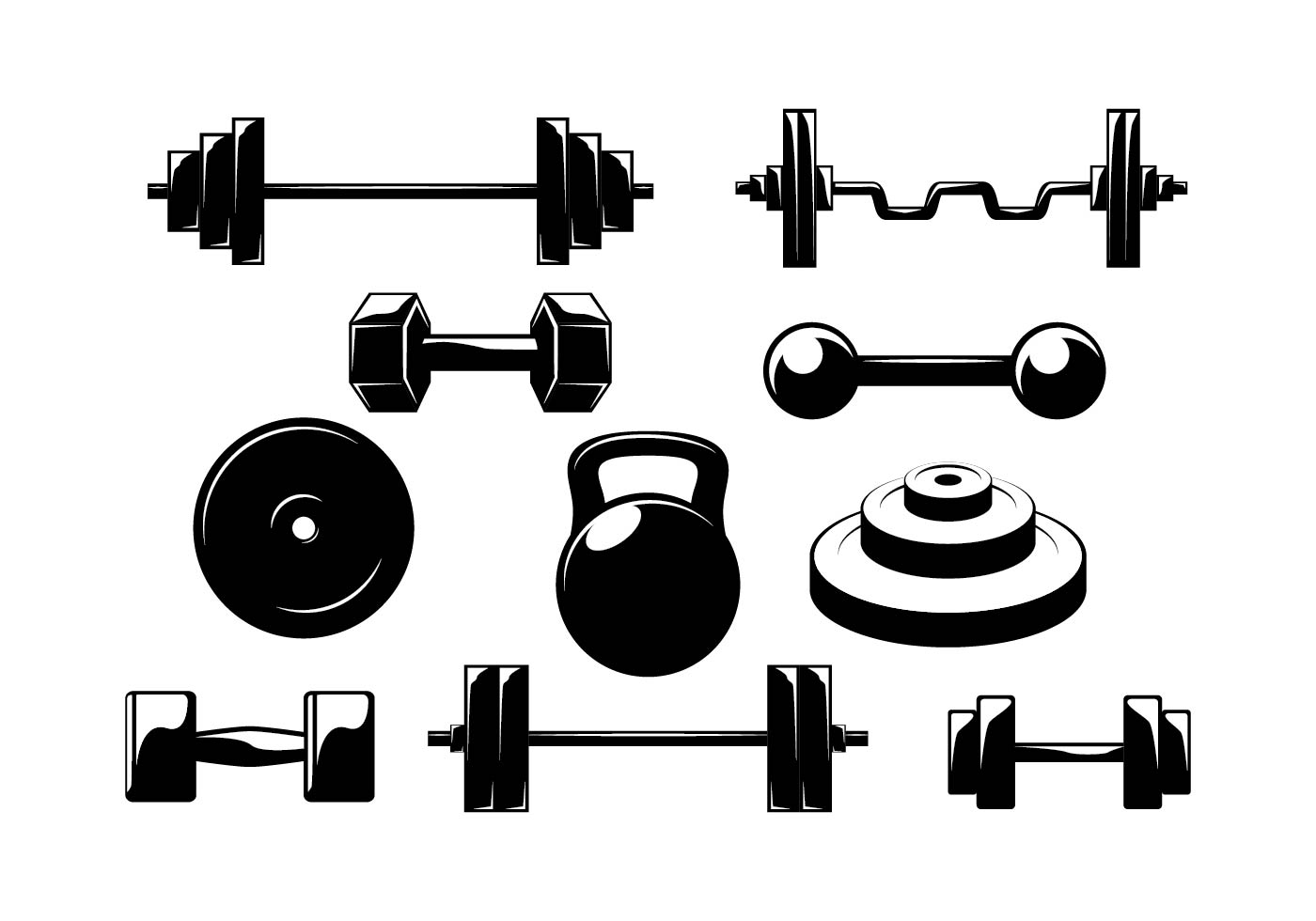 dumbbell dumbell vector download vector art graphics #35692