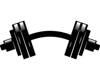 dumbbell weightlifting bodybuilding fitness workout gym #35673