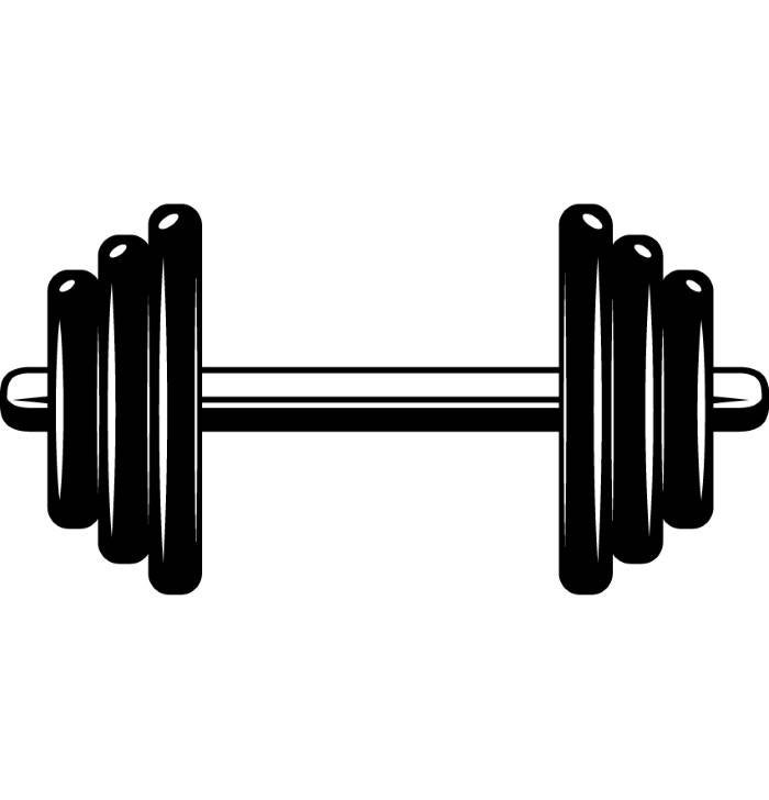 dumbbell weightlifting bodybuilding fitness workout gym #35676