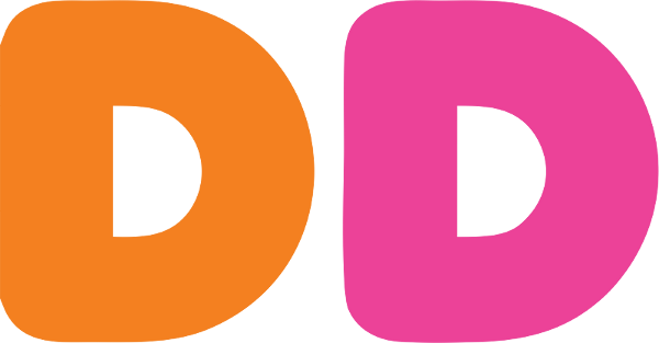 DD dunkin donuts png logo