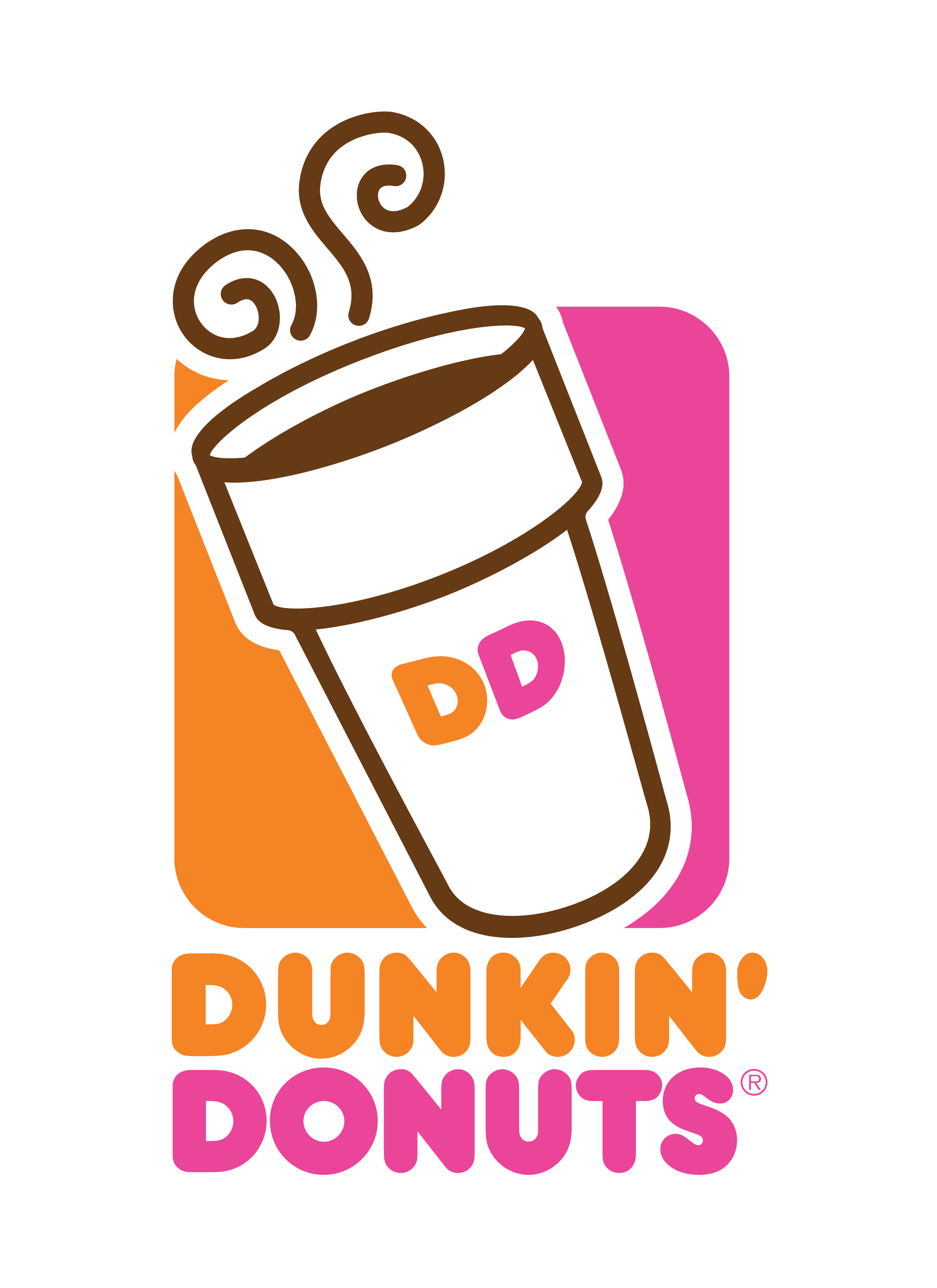 dunkin donuts png logo #3110