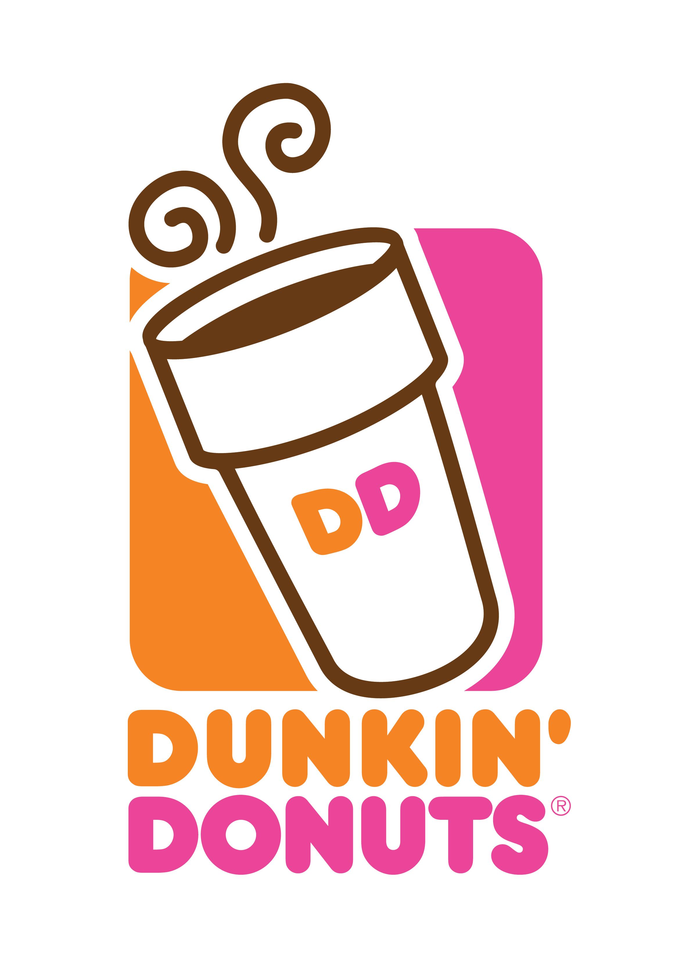 dunkin donuts png logo