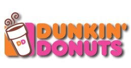 history dunkin donuts png logo #3113