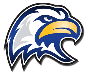 blue eagle head png logo