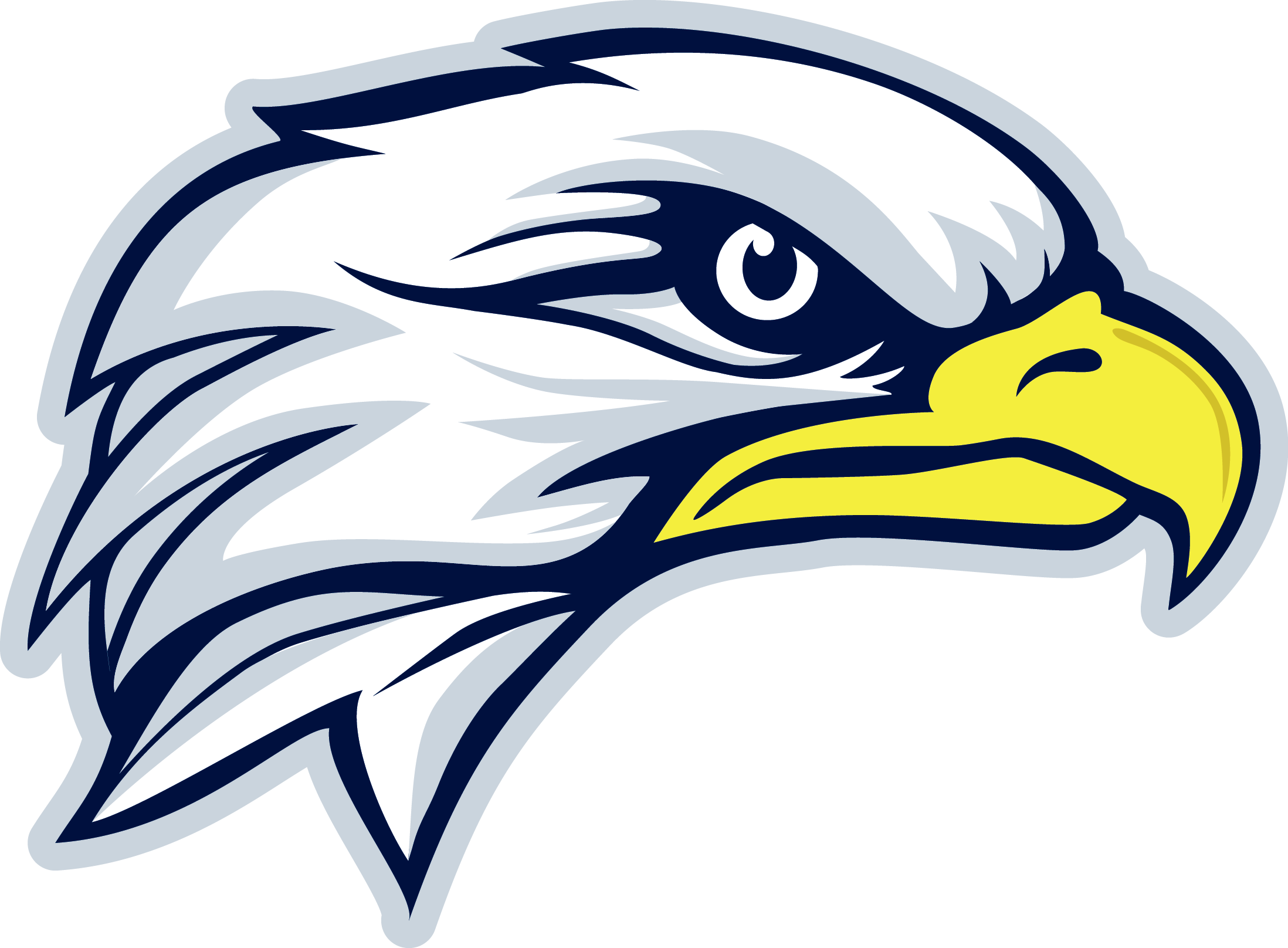 durham district school board eagle png logo
