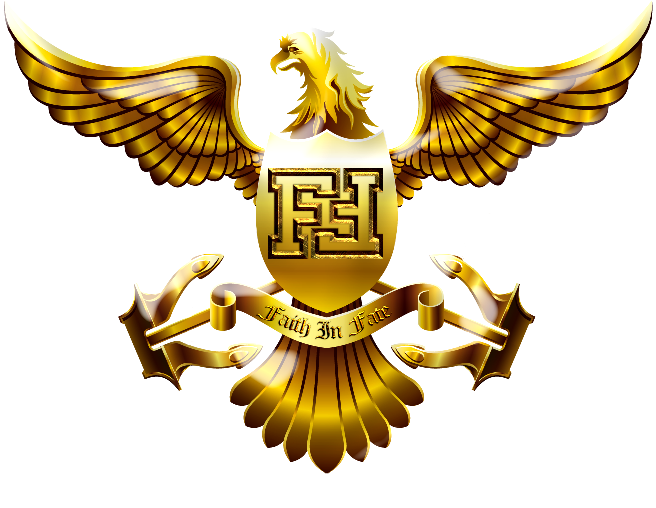 gold eagle shield logo png 3231