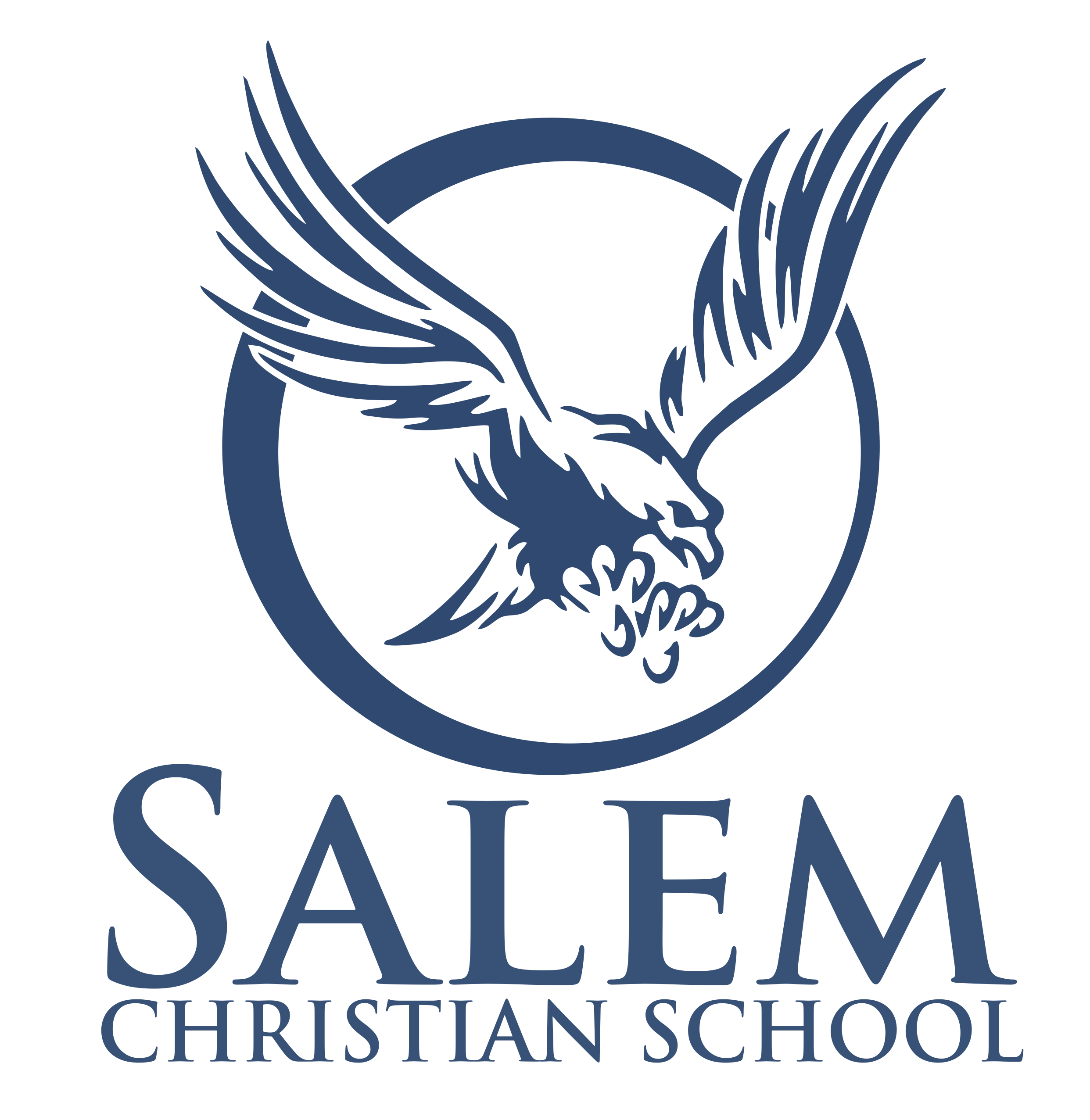salem christian school png logo 3236