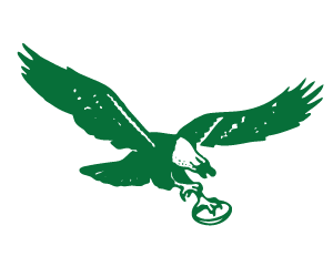 green emblem philadelphia eagles png logo 4055