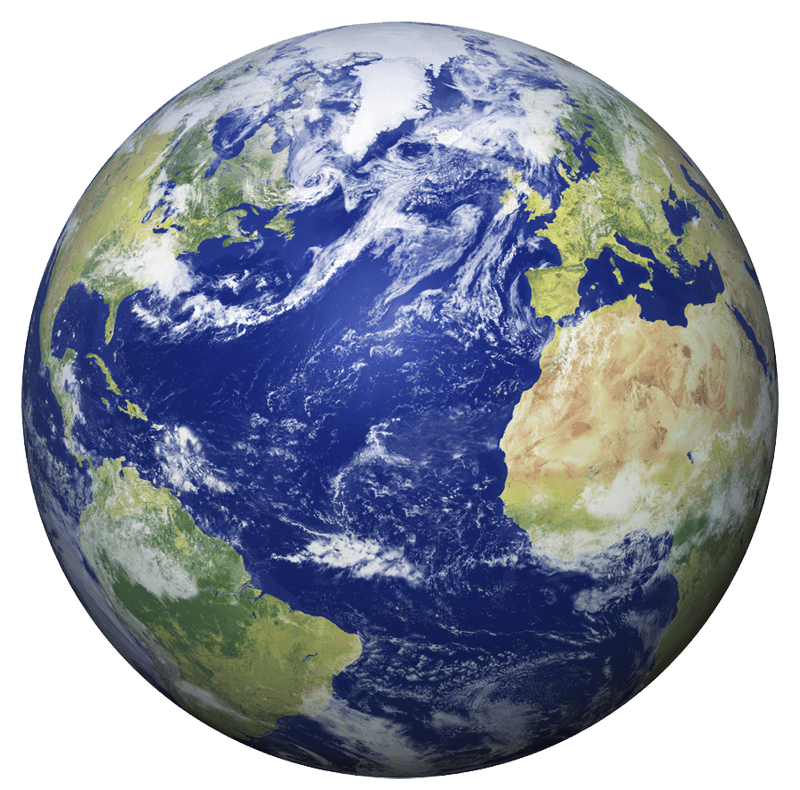 earth seen from space transparent png stickpng #11652