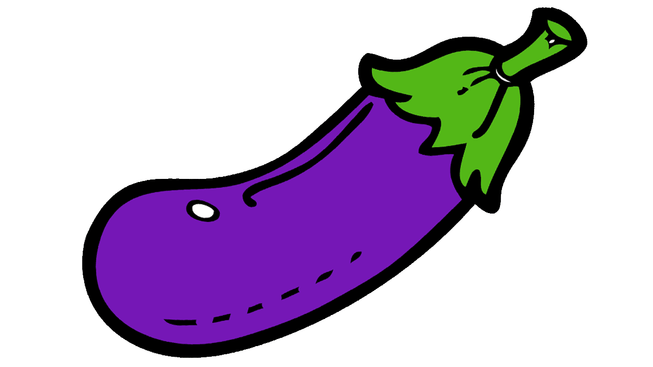 eggplant clipart color purple eggplant color purple transparent for download #29882