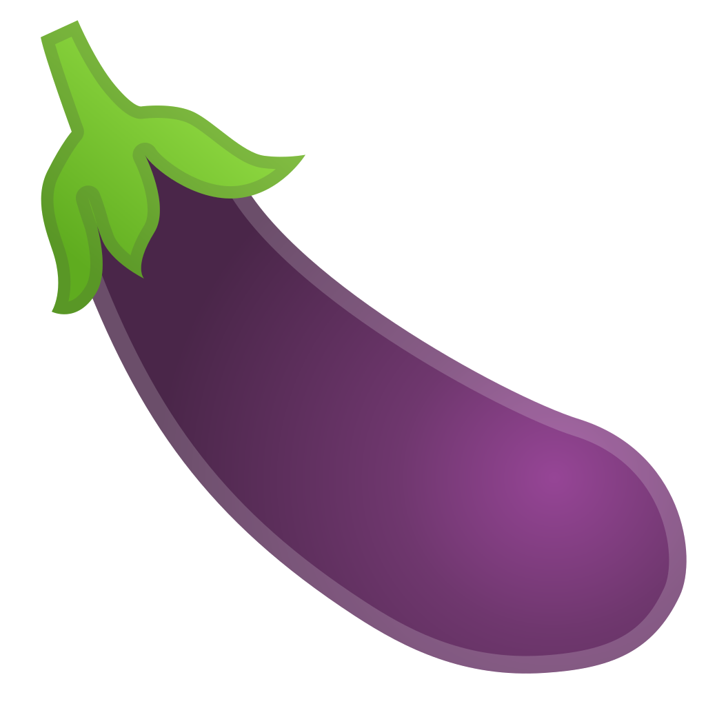 eggplant icon noto emoji food drink iconset google #29840