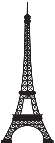 eiffel tower silhouette png clip art image gallery #18017