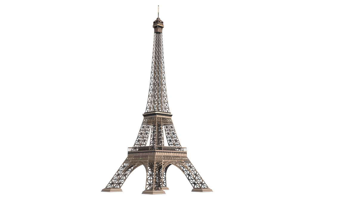 eiffel tower silhouette transparent images download #20033