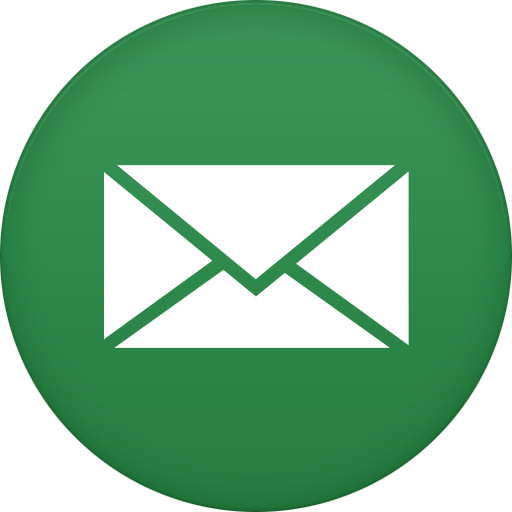 email icon circle icons softiconsm #13751