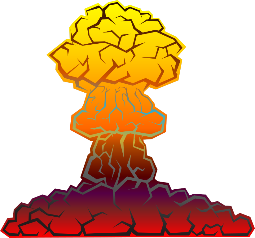 explosion clipart, file nuclear explosion #14275