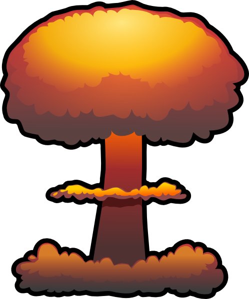 nuclear explosion clip art png images #14293