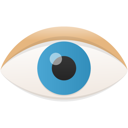 eye icon flatastic iconset custom icon design #10752
