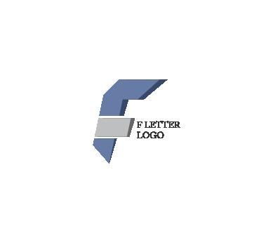 f letter vector logo design #1550