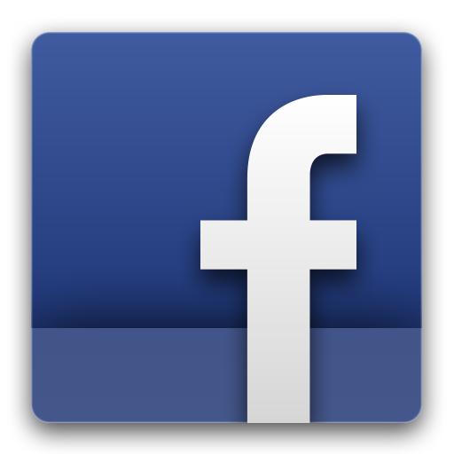 facebook icon transparent background #6953
