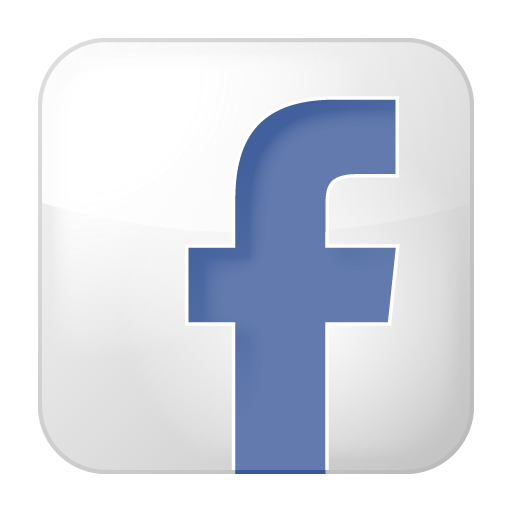 gallery white facebook icon #6947