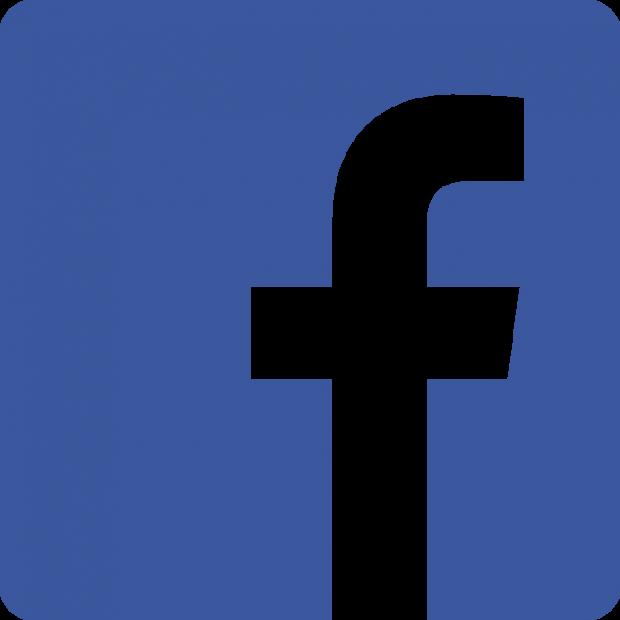 Facebook Logo 494 on Letter P Template