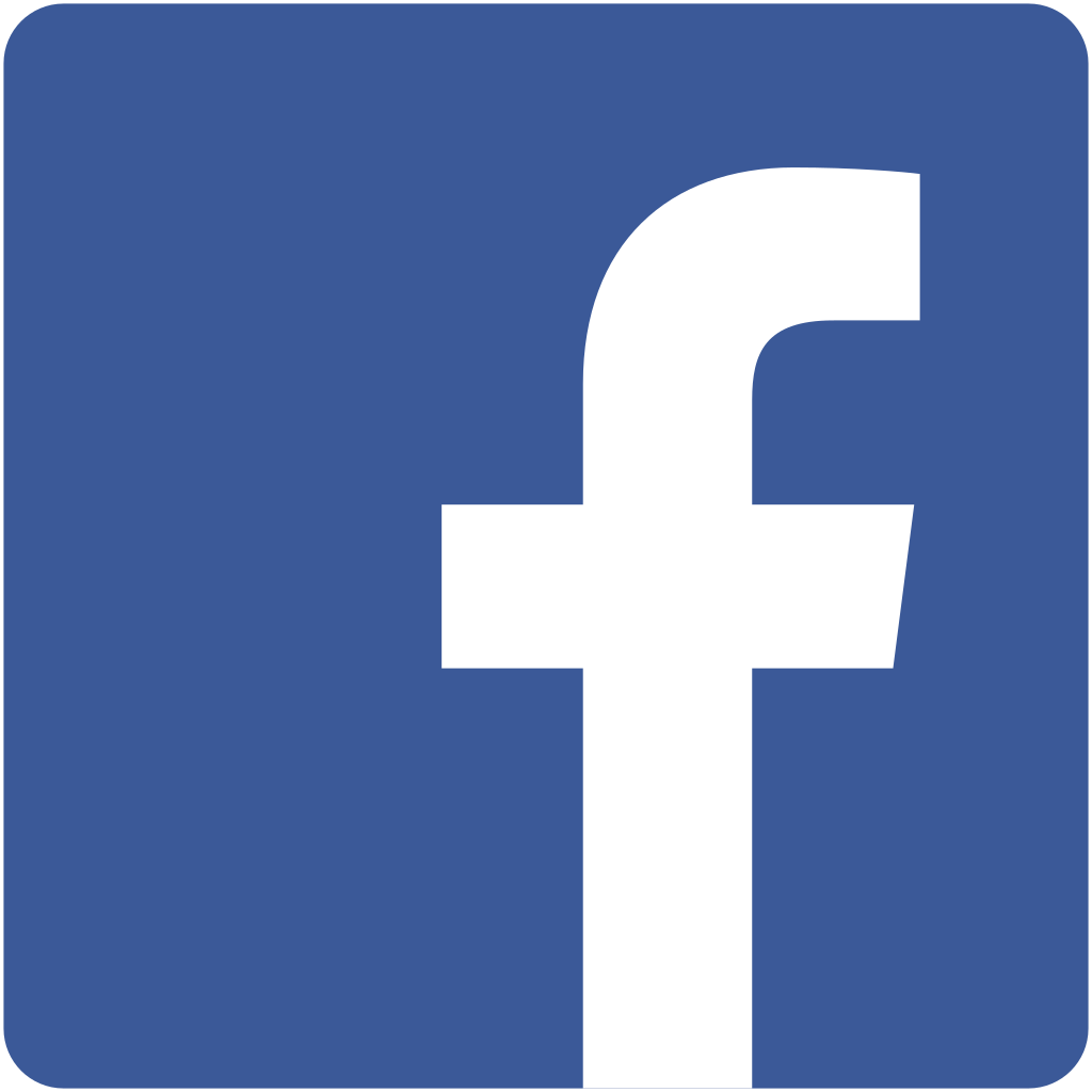 Facebook Symbol, Facebook Logos Within A White Square #32204