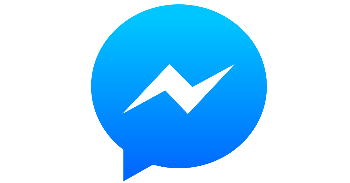 facebook messenger icon transparent background examples #13165