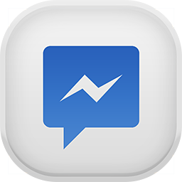 facebook messenger icons icons light icon #13166