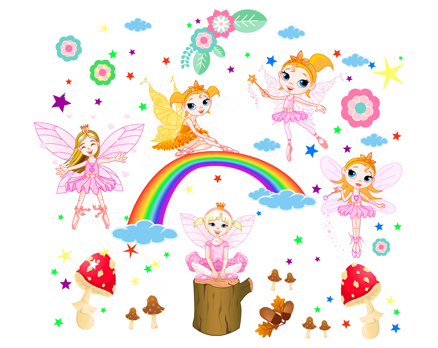 printable fairy clipart collection #31433