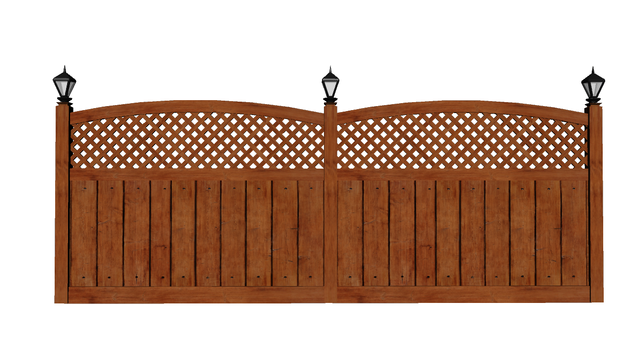 wooden fence fiveaxiomsinc docean #21512
