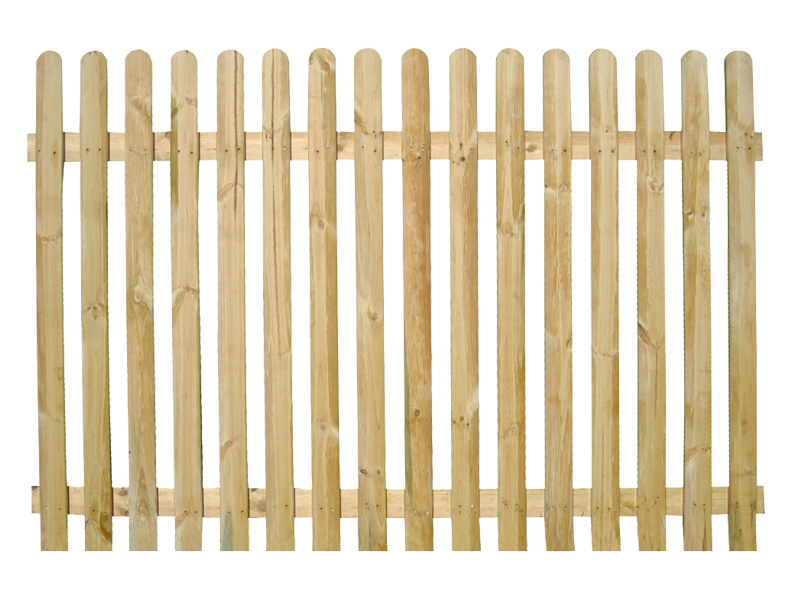 wooden picket fence transparent background #21462