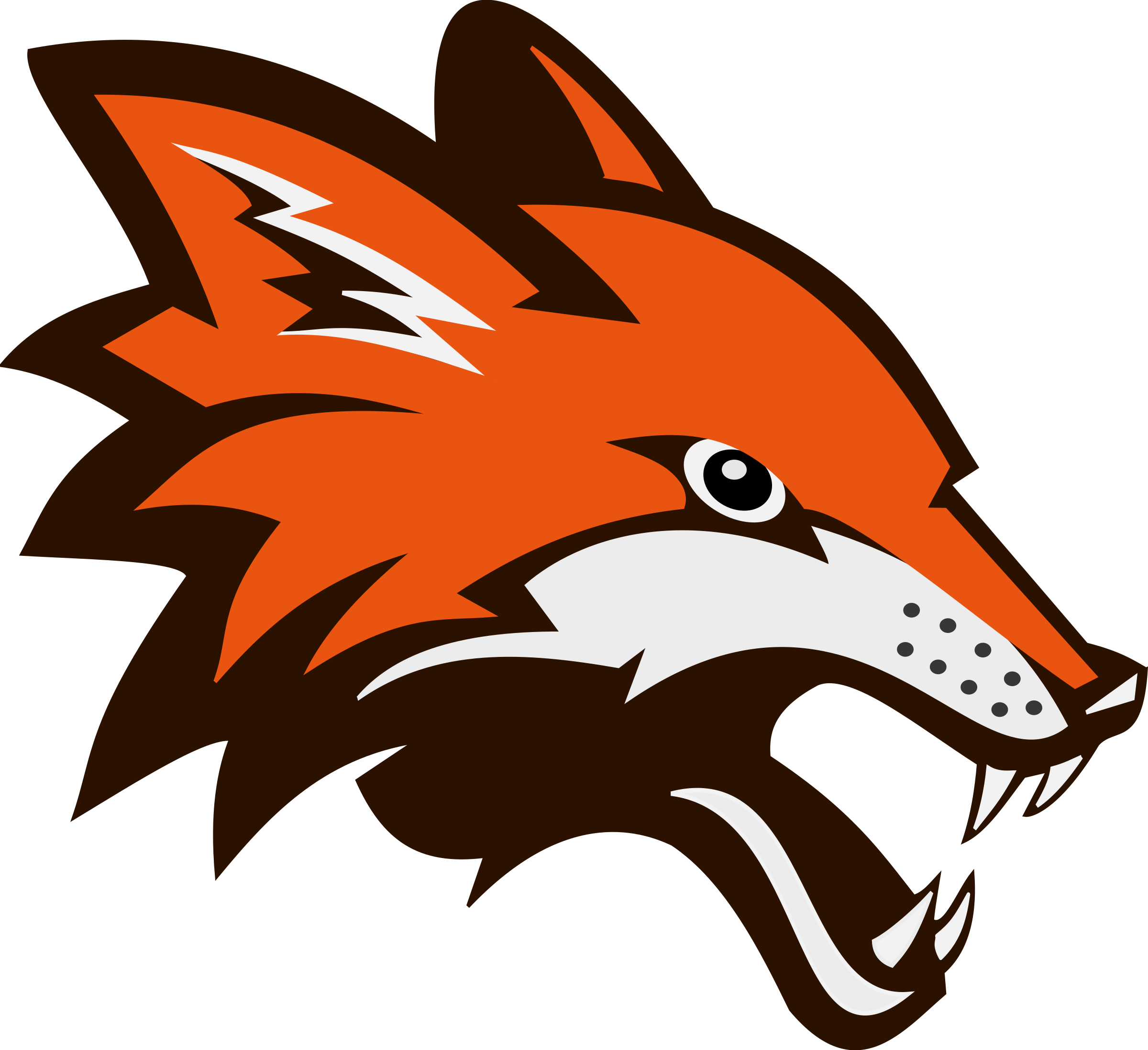 fighting head fox logo png #1653